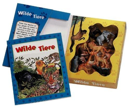 Wilde Tiere, m. 18 Tierfiguren unbekannt: Wilde Tiere, m.