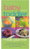 9781405443685: Baby and Toddler Meal Planner