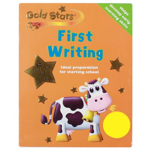 9781405446723: First Writing (Gold Stars Pre-School Learning)
