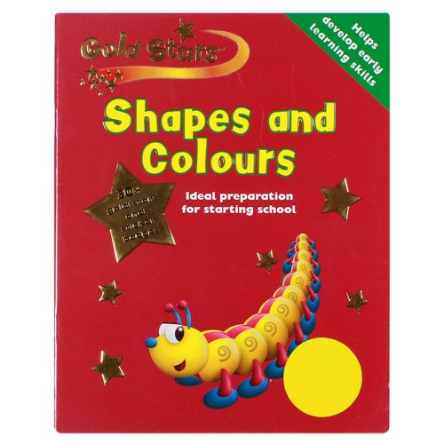 9781405446778: Shapes and Colours (Gold Stars Pre-School Learning)