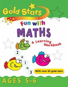 9781405446945: Fun with Maths 5-6 (Gold Stars Fun Learning Workbooks)