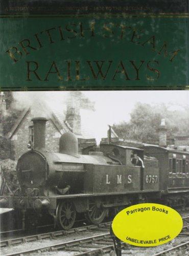 9781405454889: BRITISH STEAM RAILWAYS