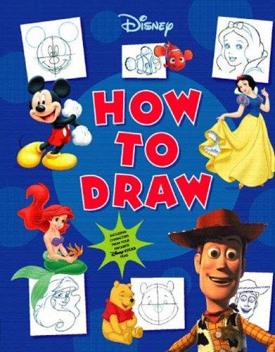 9781405459389: Disney How to Draw