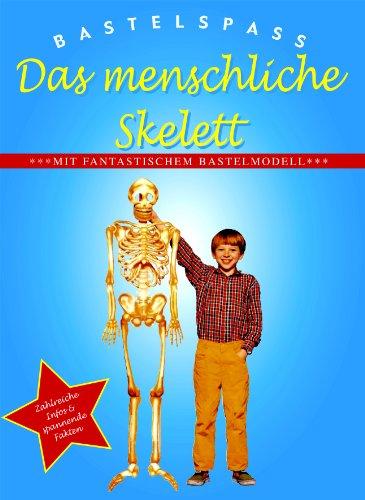 9781405464345: Bastelspaß Das menschliche Skelett