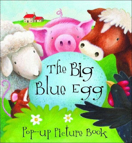 9781405471596: Big Blue Egg Pop Up Picture Book (Pop-Up Picture Books)