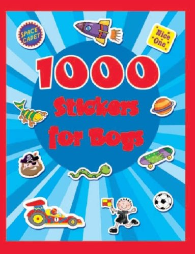 9781405471992: 1000 Stickers for Boys (1000 Stickers)
