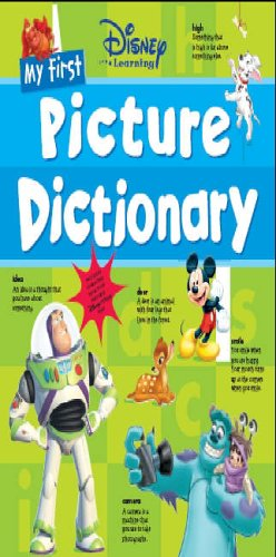 9781405474283: My First Picture Dictionary (Disney Learning)