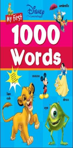 9781405474290: Disney: My First 1000 Words (Disney Learning)