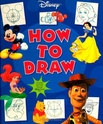 9781405474306: Disney How To Draw (Disney Learning S.)