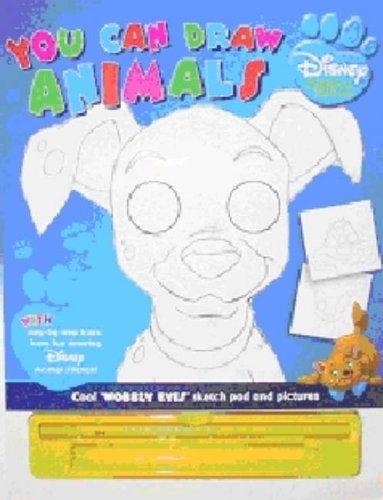 9781405474467: Disney Animal Friends: You Can Draw Animals (Disney How to Draw)