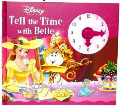 9781405474702: Disney Tell the Time with Belle (Disney Clock Book)