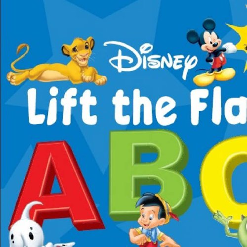 9781405474719: Disney Plus Pixar Lift the Flap ABC (Disney Now I Know Board Books)