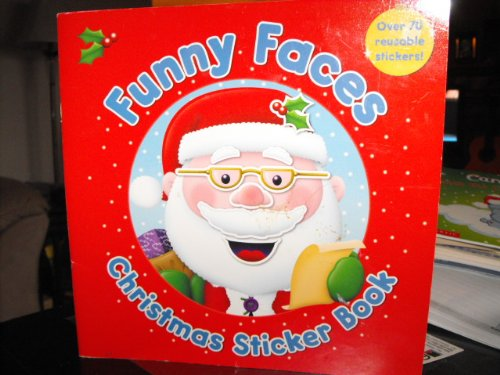 Funny Faces Christmas Sticker Book: Dronsfield, Paul
