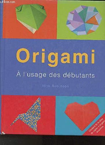 9781405477963: Origami : A l'usage des d�butants