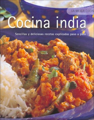 9781405479332: Cocina India (Spanish Edition)