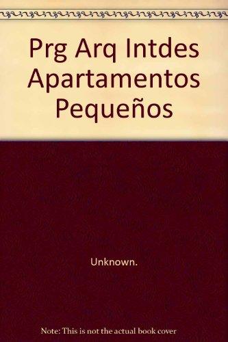 9781405481328: Prg Arq Intdes Apartamentos Peque?os