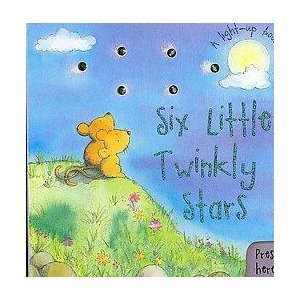 9781405486347: Six Little Twinkly Stars (Light Up Books)