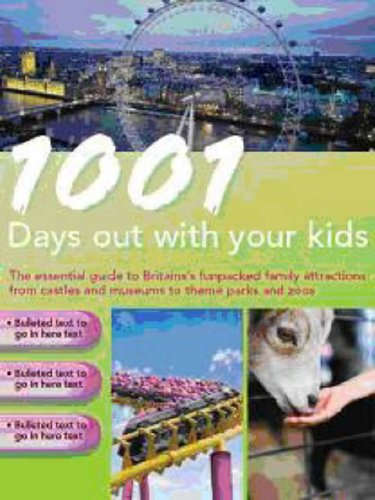 9781405486521: 1001 Days Out with Your Kids