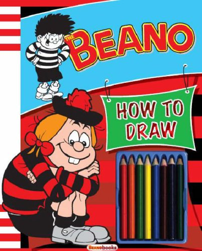 9781405487450: Dennis How to Draw (Beano How to Draw)