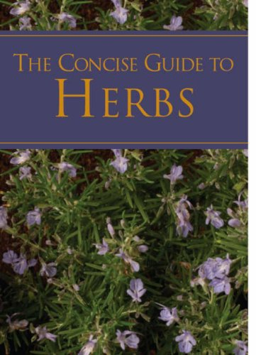 9781405487993: A Concise Guide to Herbs (Pocket Guides)