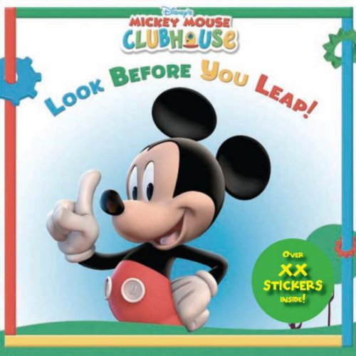 Look Before You Leap (Disney Mickey Mouse Clubhouse): Parragon Book Service Ltd