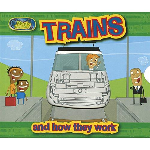 9781405491365: Trains (Pinwheel Magic Machines)