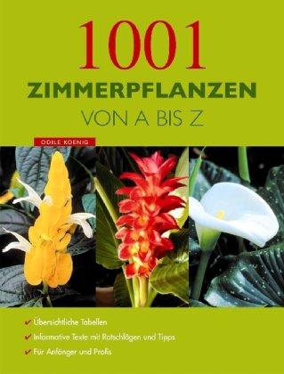 9781405492096: 1001 Zimmerpflanzen von A - Z