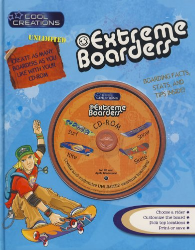 9781405495851: Extreme Boarders: Create and Customize Unlimited Extreme Boarders! (Cool Creations)