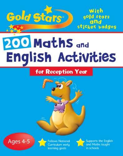 9781405496872: 200 Maths and English Activities: Reception (Gold Stars Bumper Workbooks)
