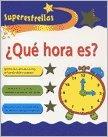 9781405498876: SUPER ESTRELLAS ¿QUE HORA ES?