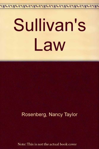 9781405610162: Sullivan's Law