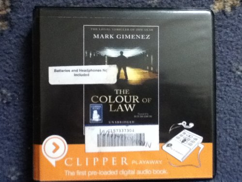 9781405612548: The Colour Of Law[Audio Clipper][Jan 01, 2005]