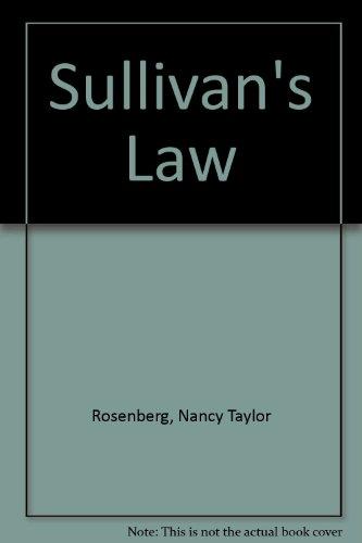 9781405620116: Sullivan's Law