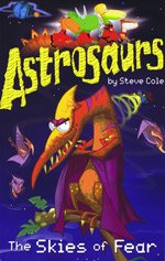 9781405663427: The Skies of Fear (Astrosaurs)