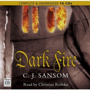 9781405672740: Dark Fire: By C. J. Sansom Unabridged Audio Book 16cd`s