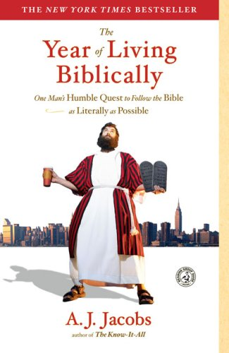 9781405687157: The Year of Living Biblically: One Man's Humble Quest to Follow the Bible as Literally as Possible