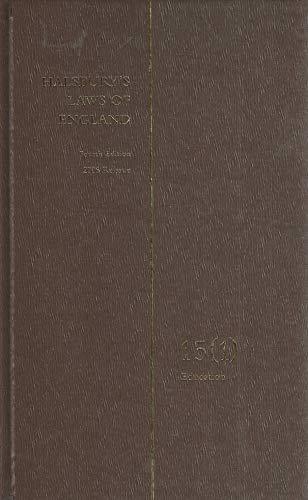 9781405705585: Halsbury's Laws of England: Volume 15 (1)