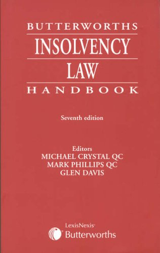 9781405707732: Butterworths Insolvency Law Handbook