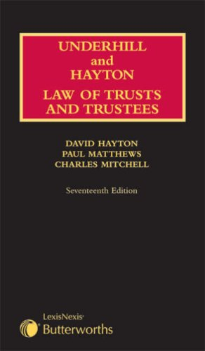 9781405708630: Law Relating to Trustees