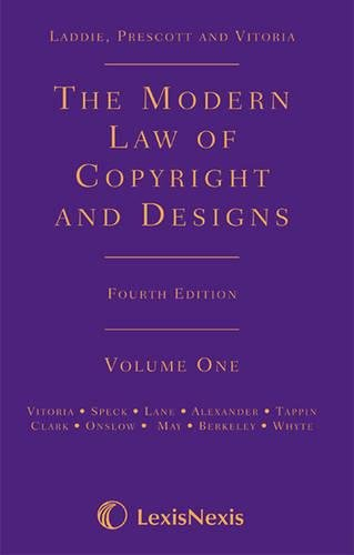 9781405717984: The Modern Law of Copyright and Designs