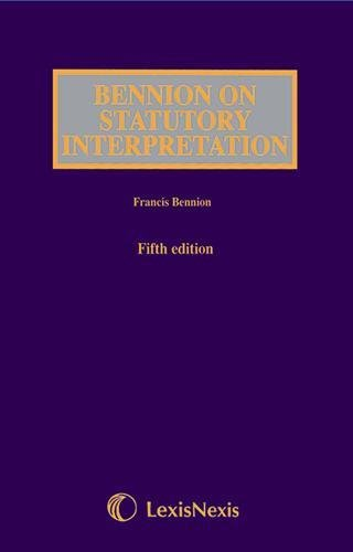 9781405718684: Statutory Interpretation
