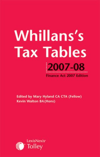 Whillan's Tax Tables: Hyland, Mary, Walton, Kevin