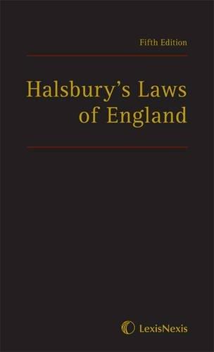 9781405734394: Halsbury's Laws of England