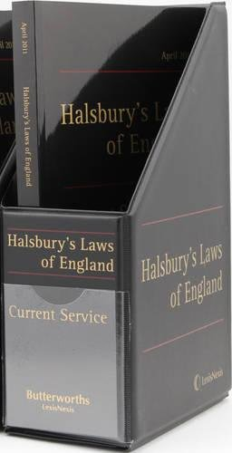 9781405736299: Halsbury's Laws of England Current Service Set