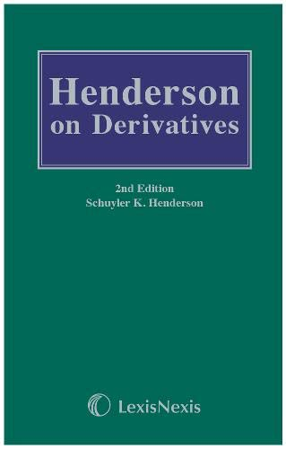 9781405737234: Henderson on Derivatives