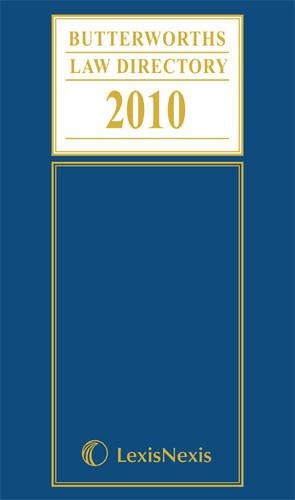 Butterworths Law Directory 2010