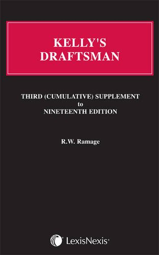 Kelly's Draftsman: Third Supplement to the 19th