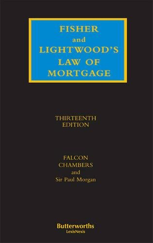 9781405748070: Fisher and Lightwood's Law of Mortgage