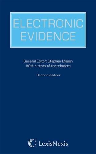 9781405749121: Electronic Evidence