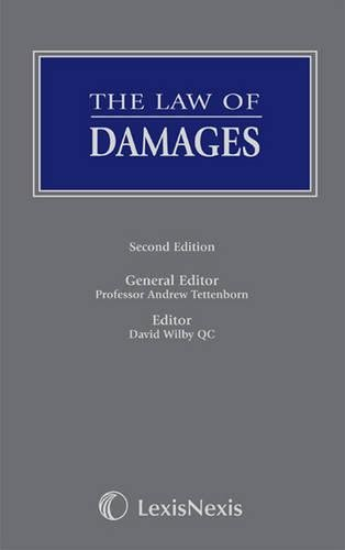 9781405751094: The Law of Damages (Butterworths Common Law Series)